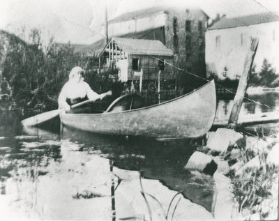 Hazel Horton Chant in a Canoe
