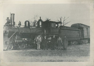 Train and crew near Newboro
