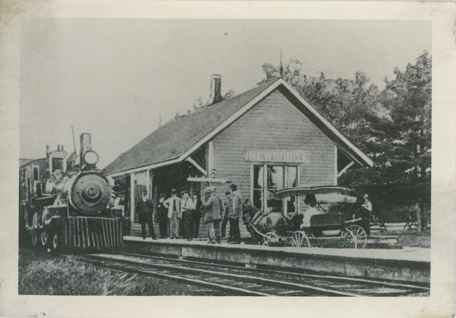 Newboro Train Station