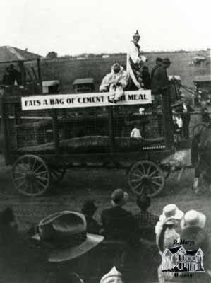 Parade After World War One