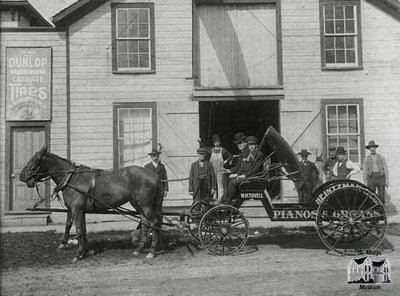 W.H. Tovell's Delivery Carriage