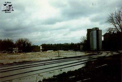 Flooding on Tracks