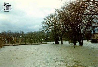 Flooding of a Bridge