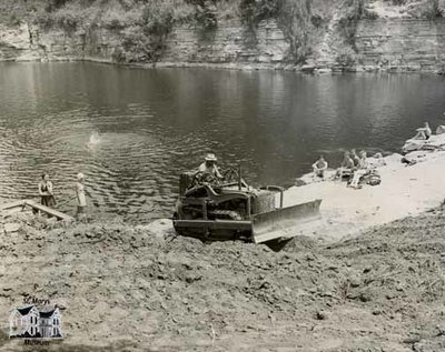 Construction at the Quarry