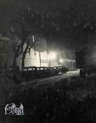Corner of Queen and Water Street, Winter 1948