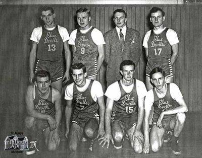 Blue Devils Basketball Team, c. 1948-49