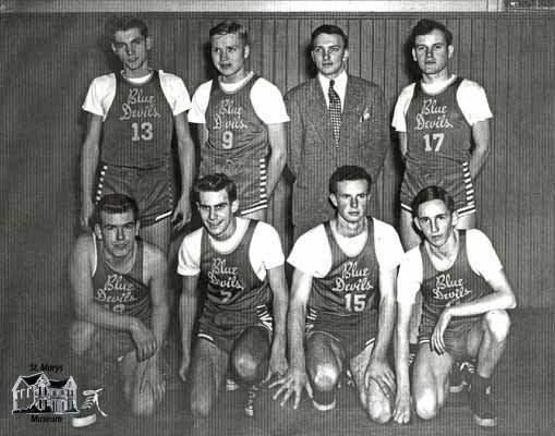 Blue Devils Basketball Team, c. 1948-49