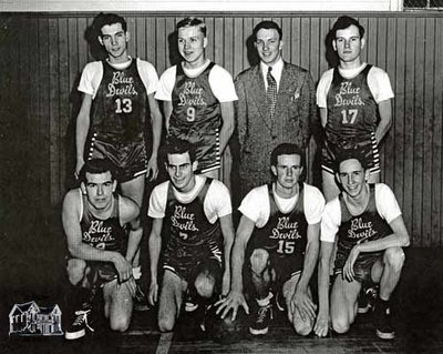 St. Marys Blue Devils Basketball Team, 1948/49 Season