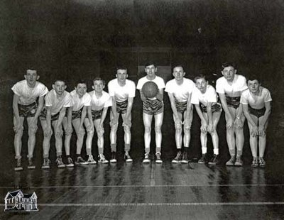 Bantam Basketball, c. 1950