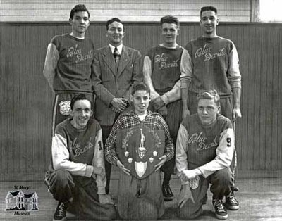 Blue Devils Basketball Team, c. 1950