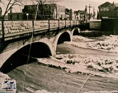 Flood, April 1947