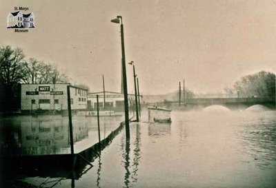 Trout Creek Flood, 1947