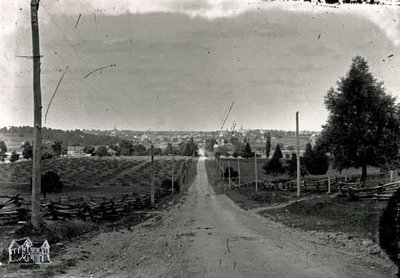 Water Street South Looking Toward St. Marys, c. 1890