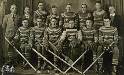 St. Marys Junior B Hockey Team, 1936-37