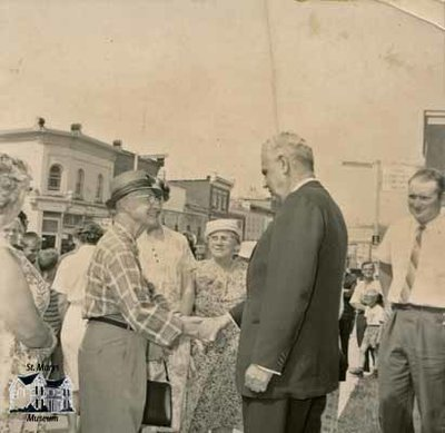 John George Diefenbaker Visit to St. Marys, 1960's