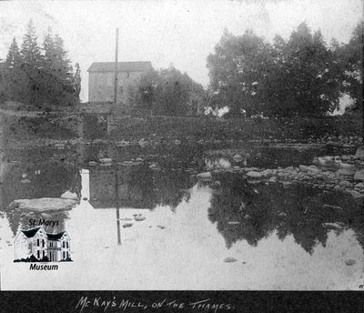McKay's Mill and Thames River, 1901