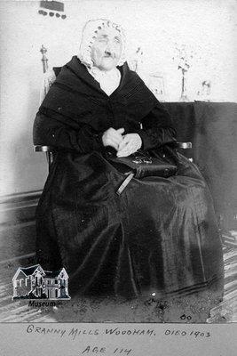 Mrs. James Mills, 1900