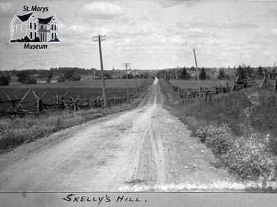 Skelly's Hill Looking North, 1902