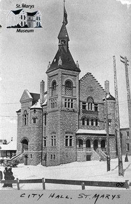 Town Hall, 1900