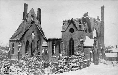 Ruins of Knox Church, 1905
