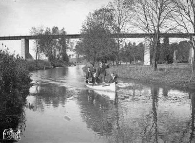 Four Men on the Millrace