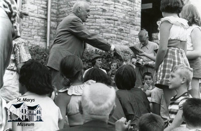 Louis St. Laurent During 1953 Campaign