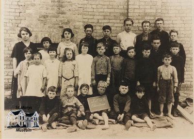 S.S. #3 Baseline, Blanshard School, c. 1920