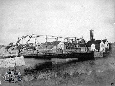 Water Street Bridge, 1898