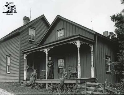 The Johnson Farmstead, E. Nissouri, c. 1906
