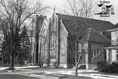 United Church, 85 Church St. S., 1980s