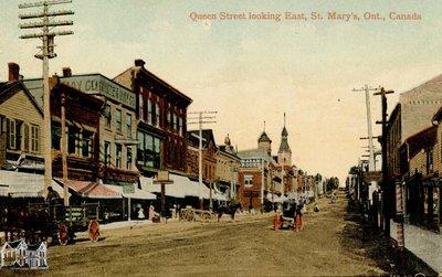Duplicates- Queen Street Looking East