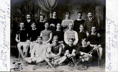 Alert Lacrosse Club, 1905