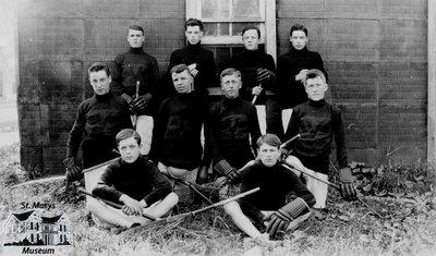 Lacrosse Team, St. Marys