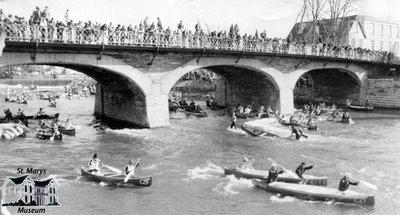 Easter Seal Society Canoe Race