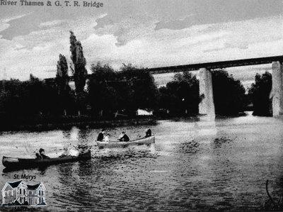 River Thames & G.T.R. Bridge