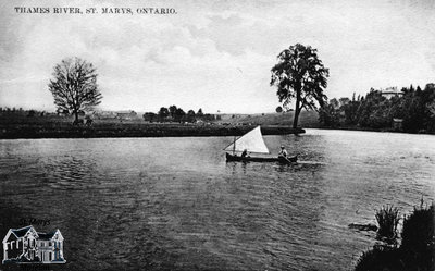 Boat on the Thames River