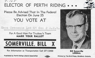 Election Reminder Card