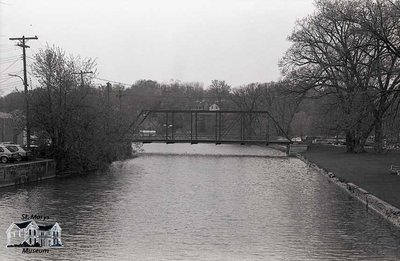Water Street Bridge, 1980s