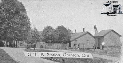 G.T.R. Station, Granton