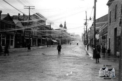 Sleet Storm, 1922