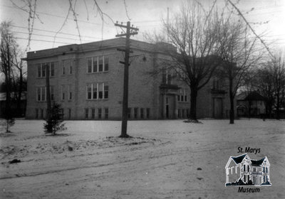 Central School at Winter
