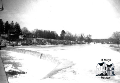 Dam in Winter