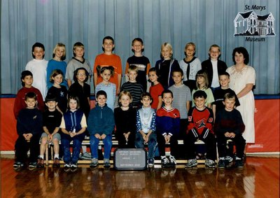 Arthur Meighen Public School Class Photo, Grade Four