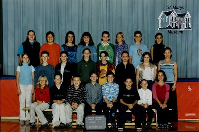 Arthur Meighen Public School Class Photo, Grade Seven