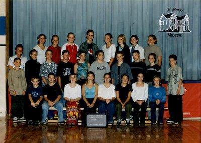Arthur Meighen Public School Class Photo, Grade Eight