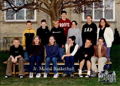 Arthur Meighen Public School Junior Mixed Basketball