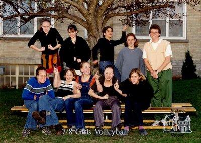 Arthur Meighen Public School Seven/Eight Girls Volleyball