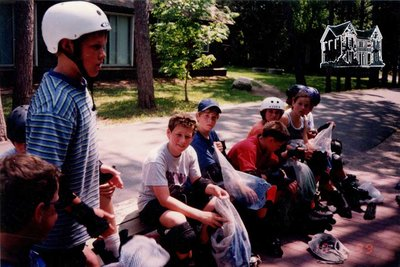 Arthur Meighen Public School Students Rollerblading