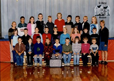 Arthur Meighen Public School Class Photo, Grade Four/Five