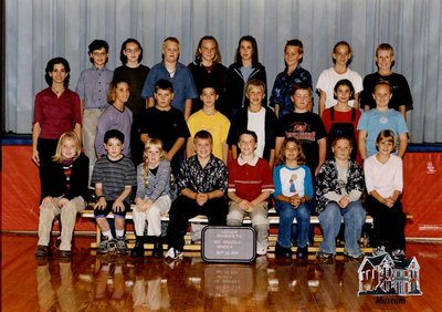 Arthur Meighen Public School Class Photo, Grade Six